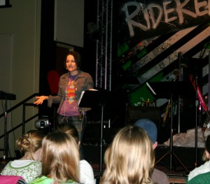 Speaking at Real Youth Group, CO.